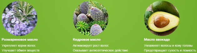 Состав Organic Oil for hair